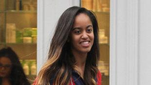 Malia Obama ingresa en Harvard