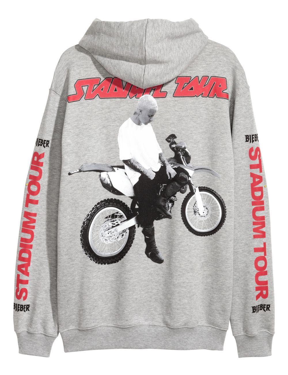 Sudadera de la colección exclusiva de H&M y Justin Bieber