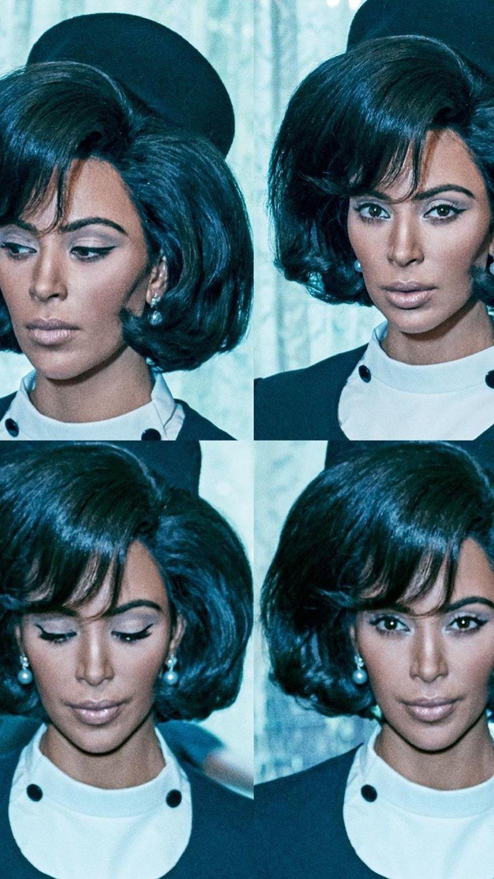 Kim Kardashian como Jackie Kennedy