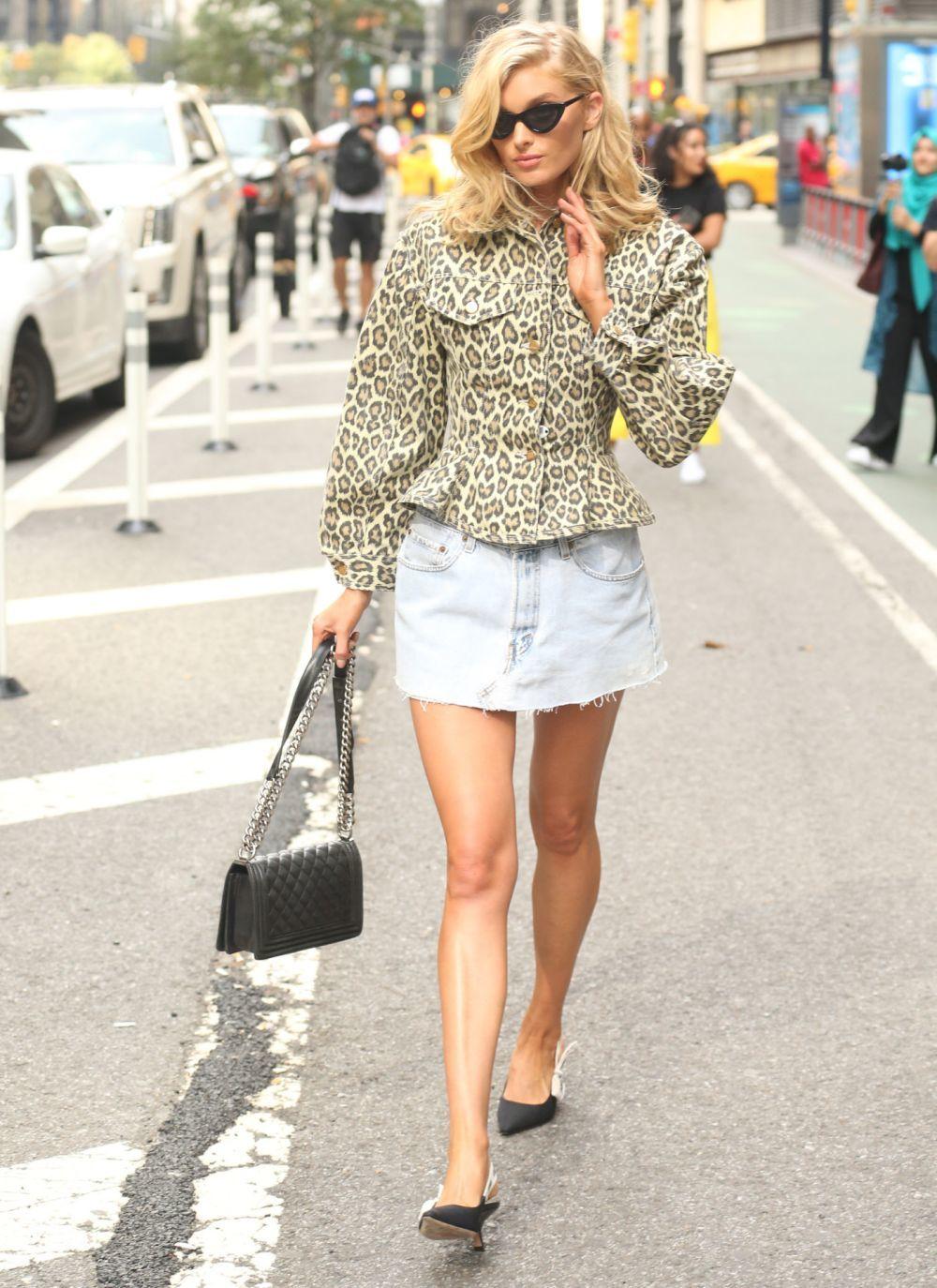 La modelo Elsa Hosk protagoniza el look del día.