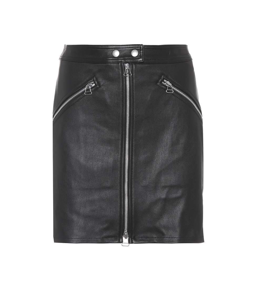 Falda de cuero de Rag&Bone (c.p.v).