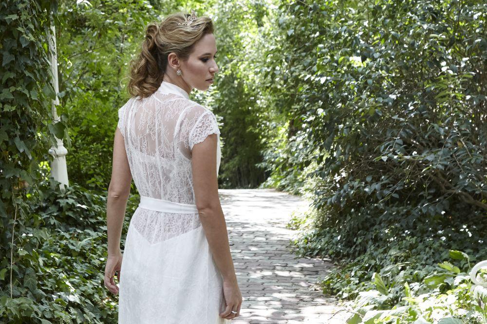 El vestido de novia de Patricia era una creación del Atelier...