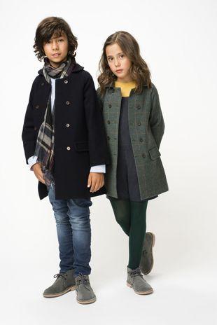 Consejos para la vuelta al cole. En la foto, dos niños preparados...