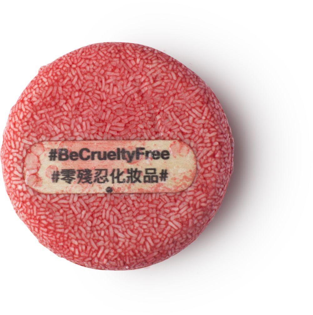 Champú sólido Cruelty Free de Lush (8,95 euros) con infusión de...
