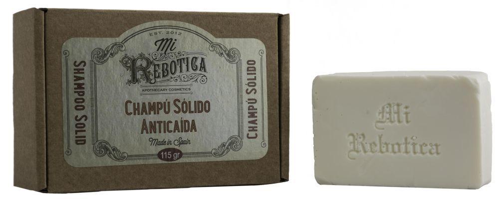 Champú sólido anticaída de Mi Rebotica (8,95 euros) con extracto de...