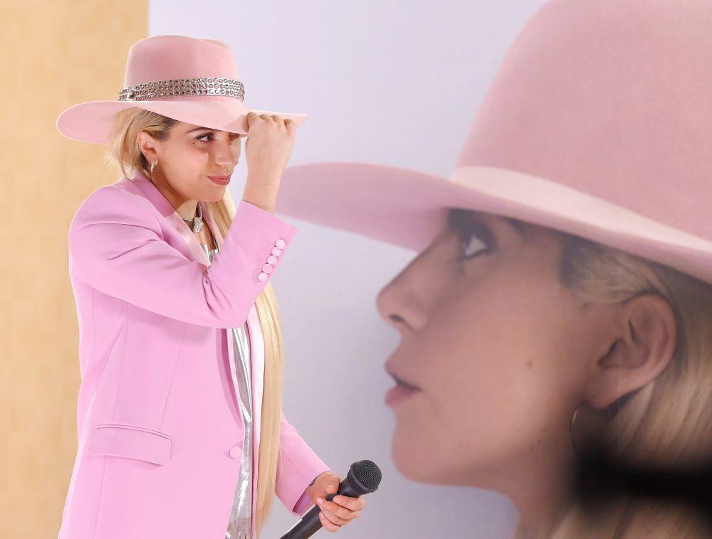 Lady Gaga en la presentación de su disco 'Joanne' en Tokio, 2016
