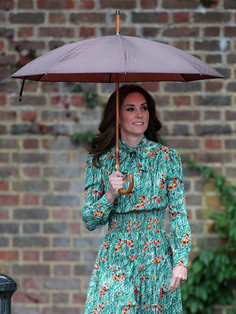 Kate Middleton en el homenaje a Diana de Gales.