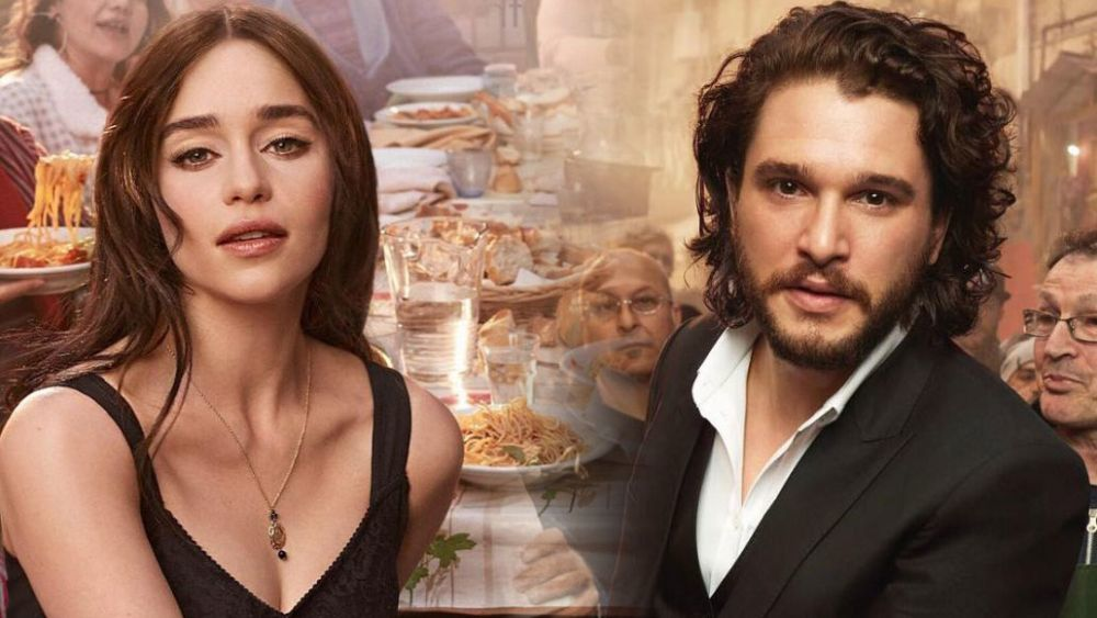 Emilia Clarke y Kit Harington anuncian el perfume The One
