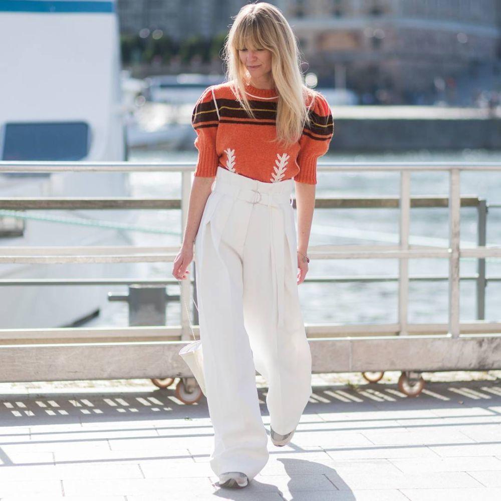 Jeanette Friis Madsen protagoniza el look del día.