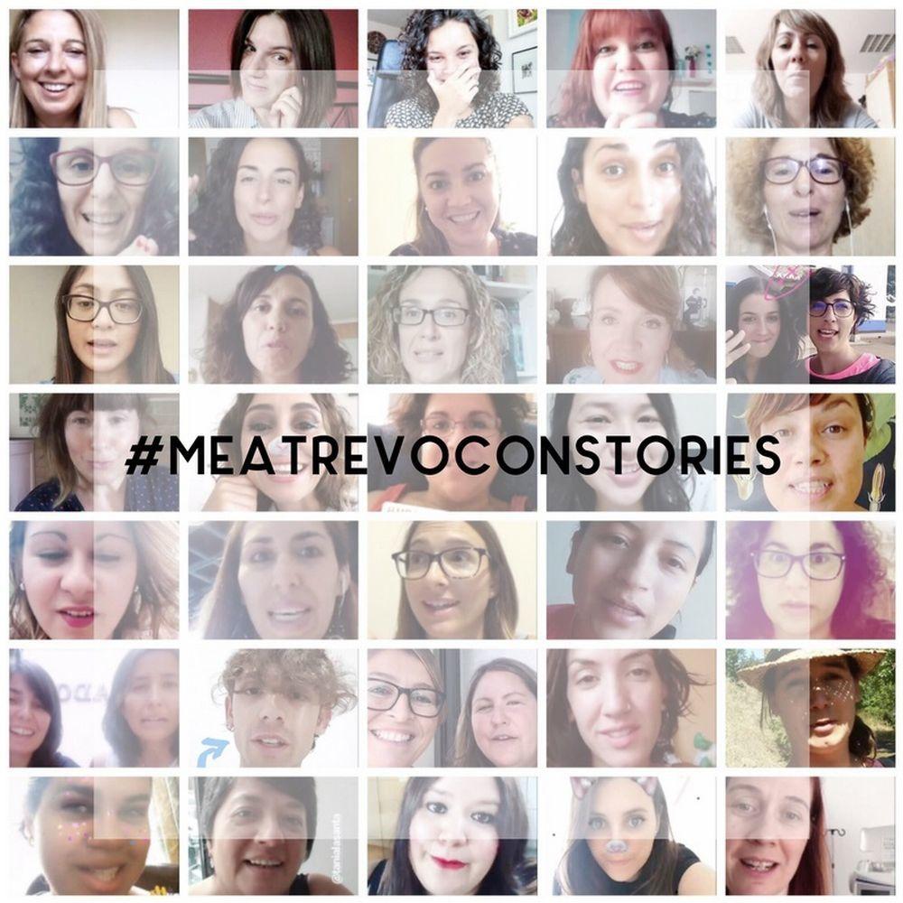 Con el hastag #meatrevoconstories
