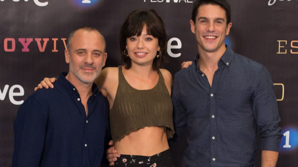 Javier Gutiérrez, Anna Castillo y Alejo Sauras