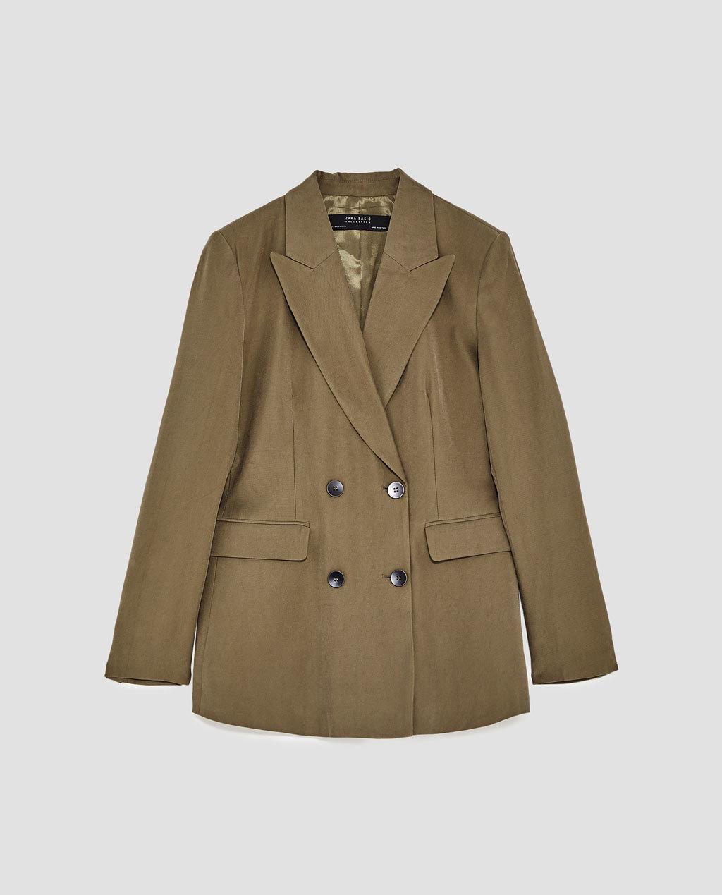 Blazer de Zara (39,95 euros).