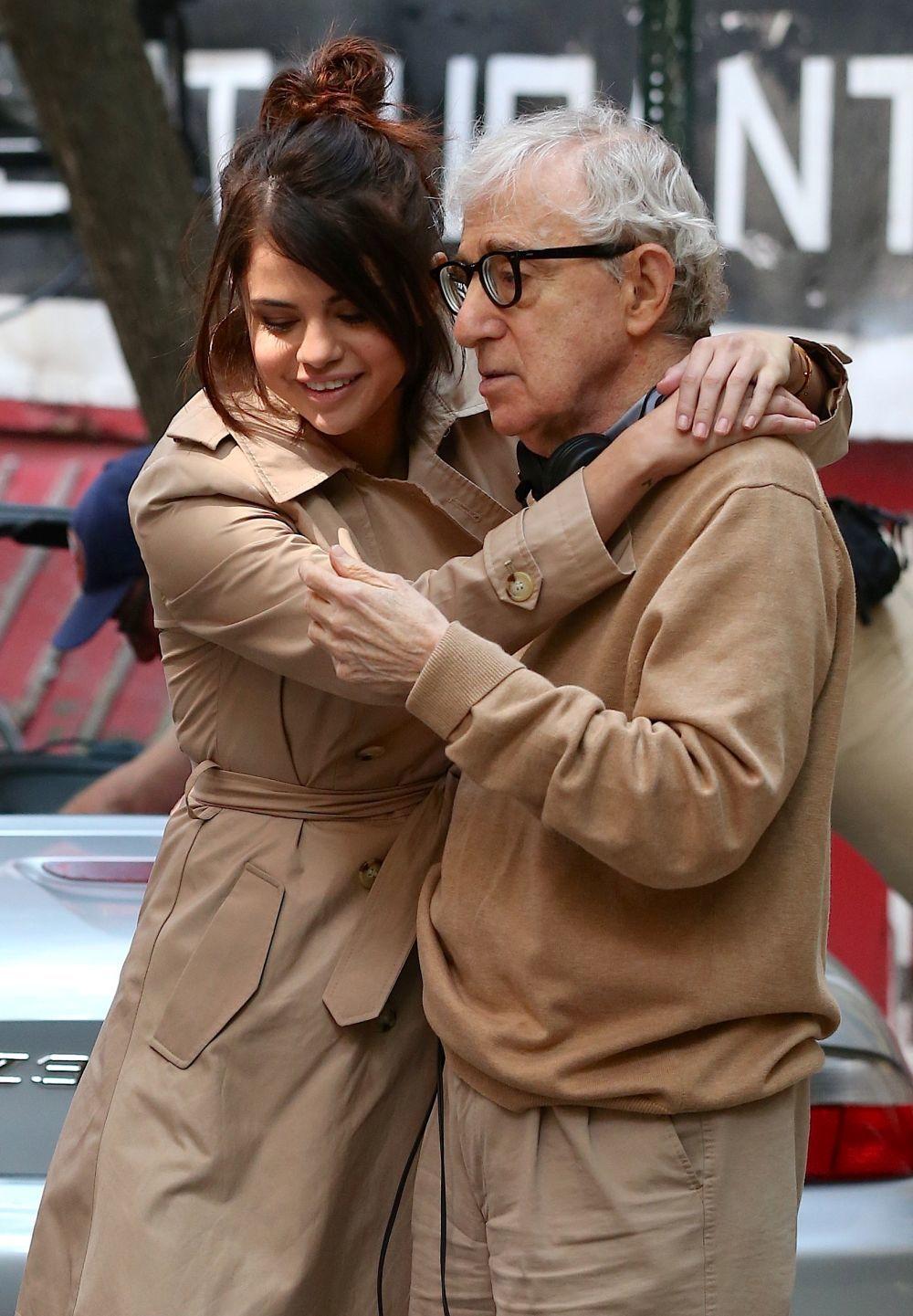 Selena Gómez y Woody Allen se encuentran en Nueva York rodando su...