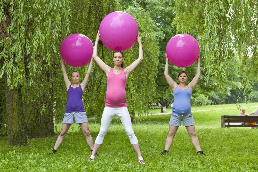 Realizar ejercicio durante el embarazo