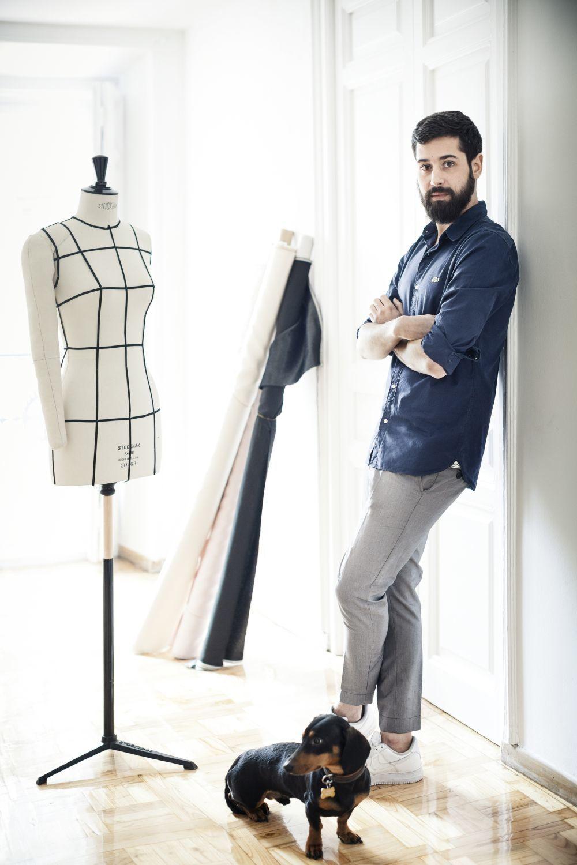 El diseñador Moisés Nieto