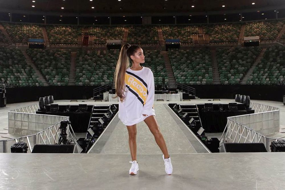 Ariana Grande para Reebok Otoño-Invierno 2017-18