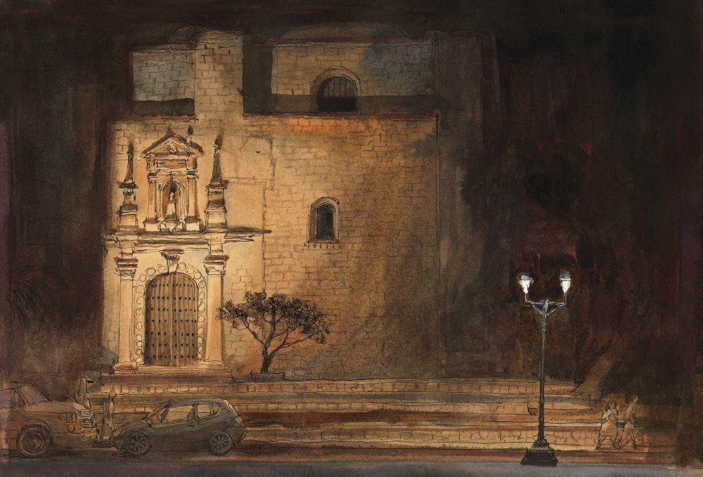 Templo Santo Domingo de Guzmán, de Oaxaca