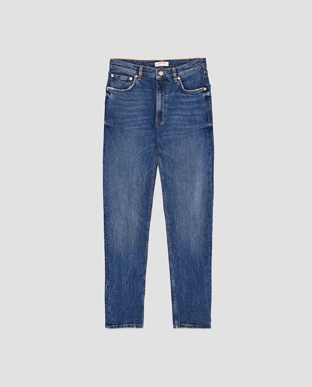 Mom jeans de Zara (29,95 euros)