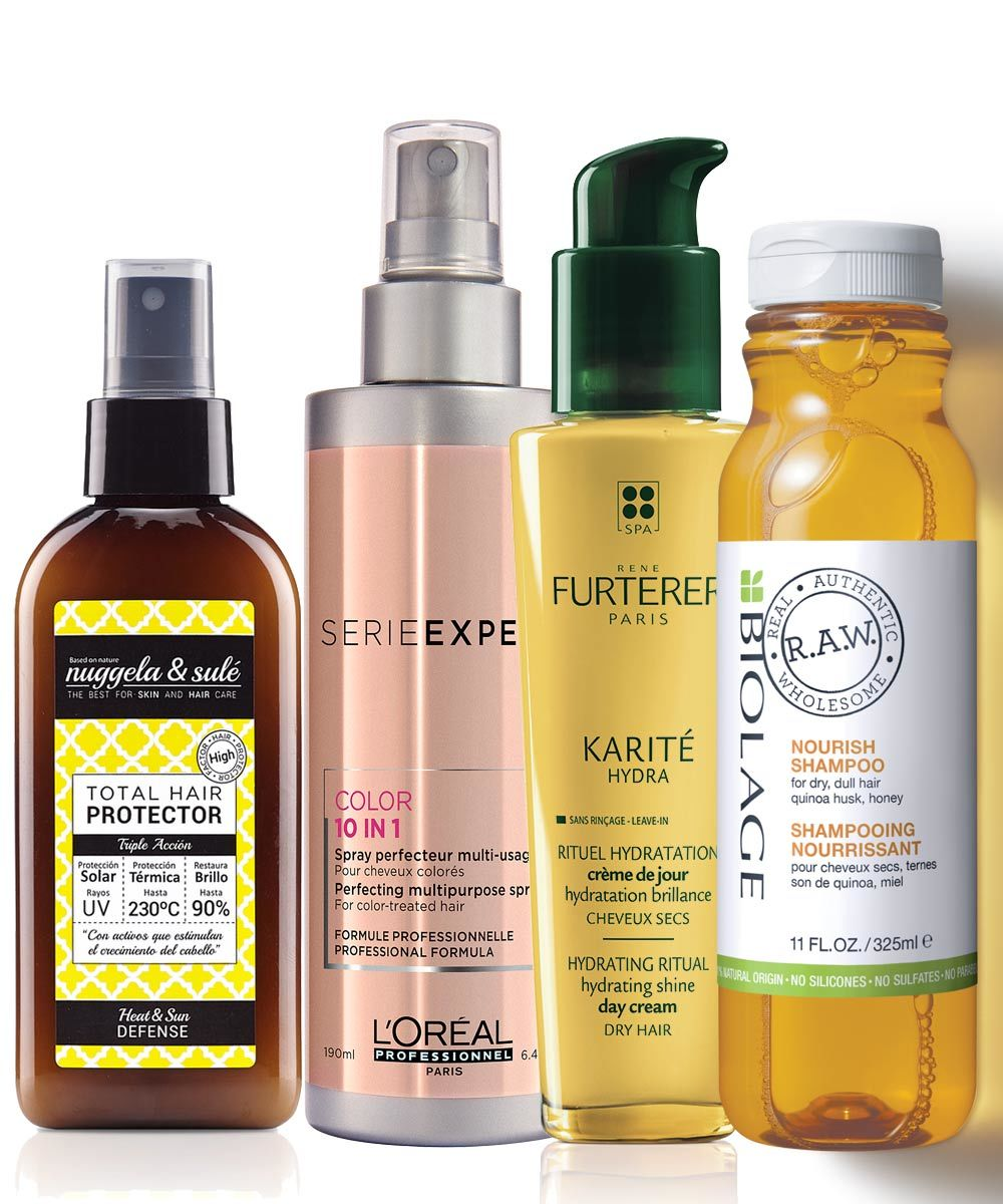 Para tu pelo: Protector, Nuggela & Sulé (14,90 euros). Spray Vitamino...