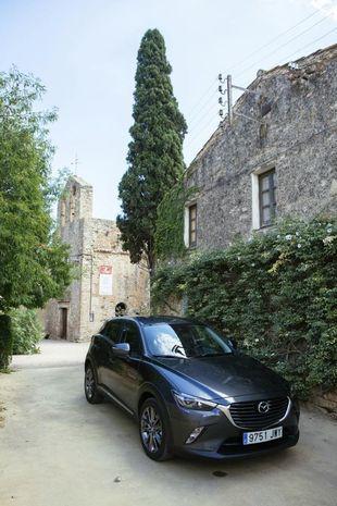 El Mazda CX-3 es un SUV compacto, con un característico diseño KODO.