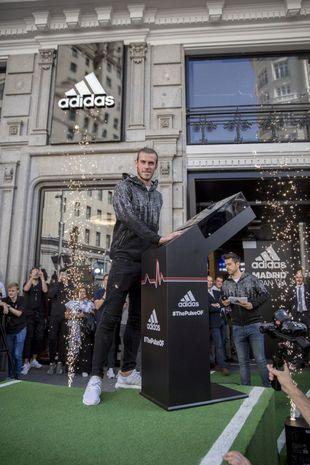 El futbolista Gareth Bale en la presentación de Adidas Z.N.E. Pulse...