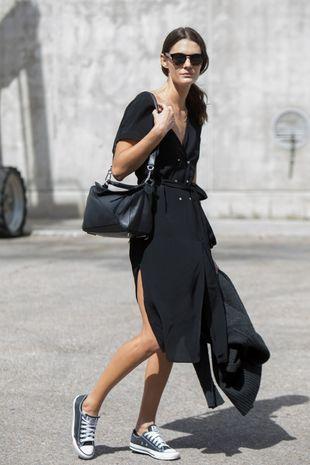 Marina Pérez protagoniza el look del día.