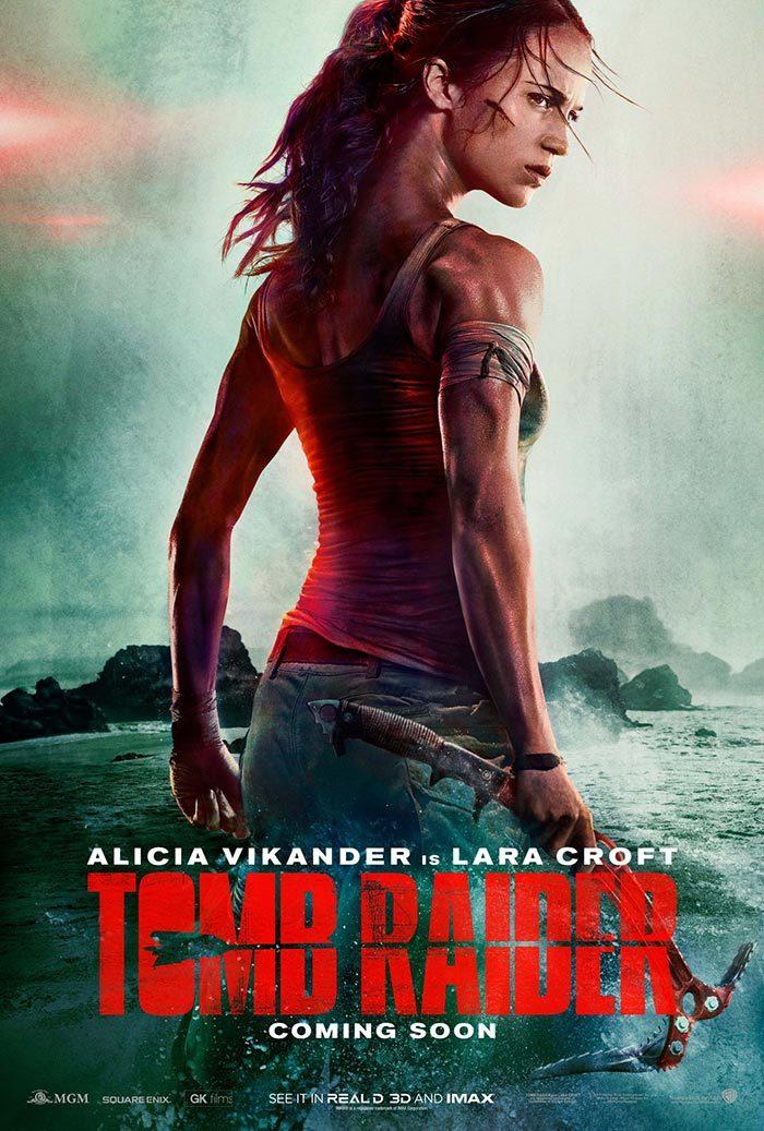 Poster oficial de la nueva entrega de Tomb Raider