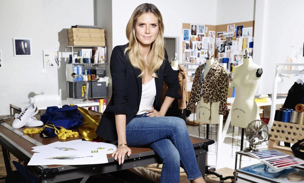 dedad18cf60aa Heidi Klum ha diseñado su primera colección para la línea Esmara de.