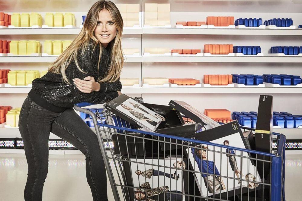 """Una de las imágenes de la campaña de """"Heidi Klum & The City""""."""