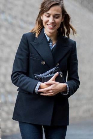 Alexa Chung durante London Fashion Week