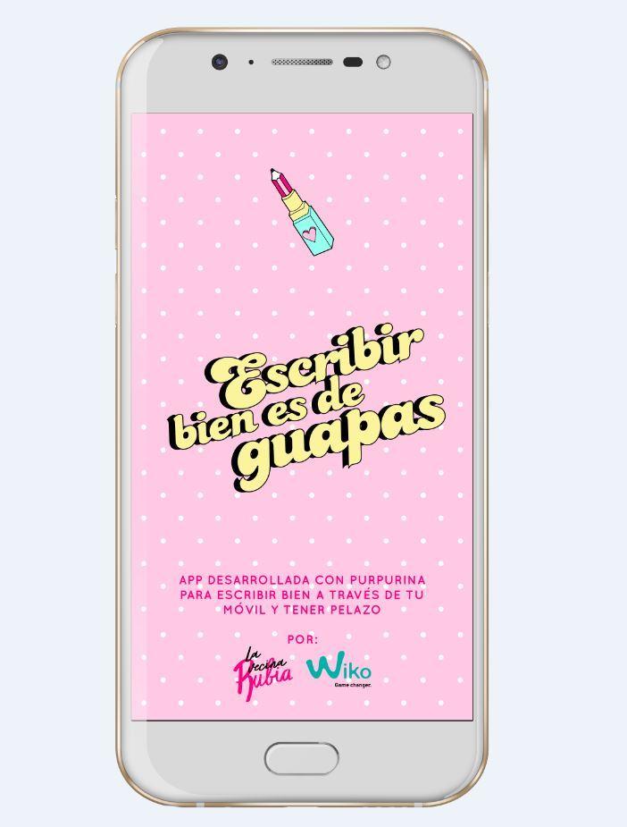 """La nueva app """"Escribir bien es de guapas"""""""