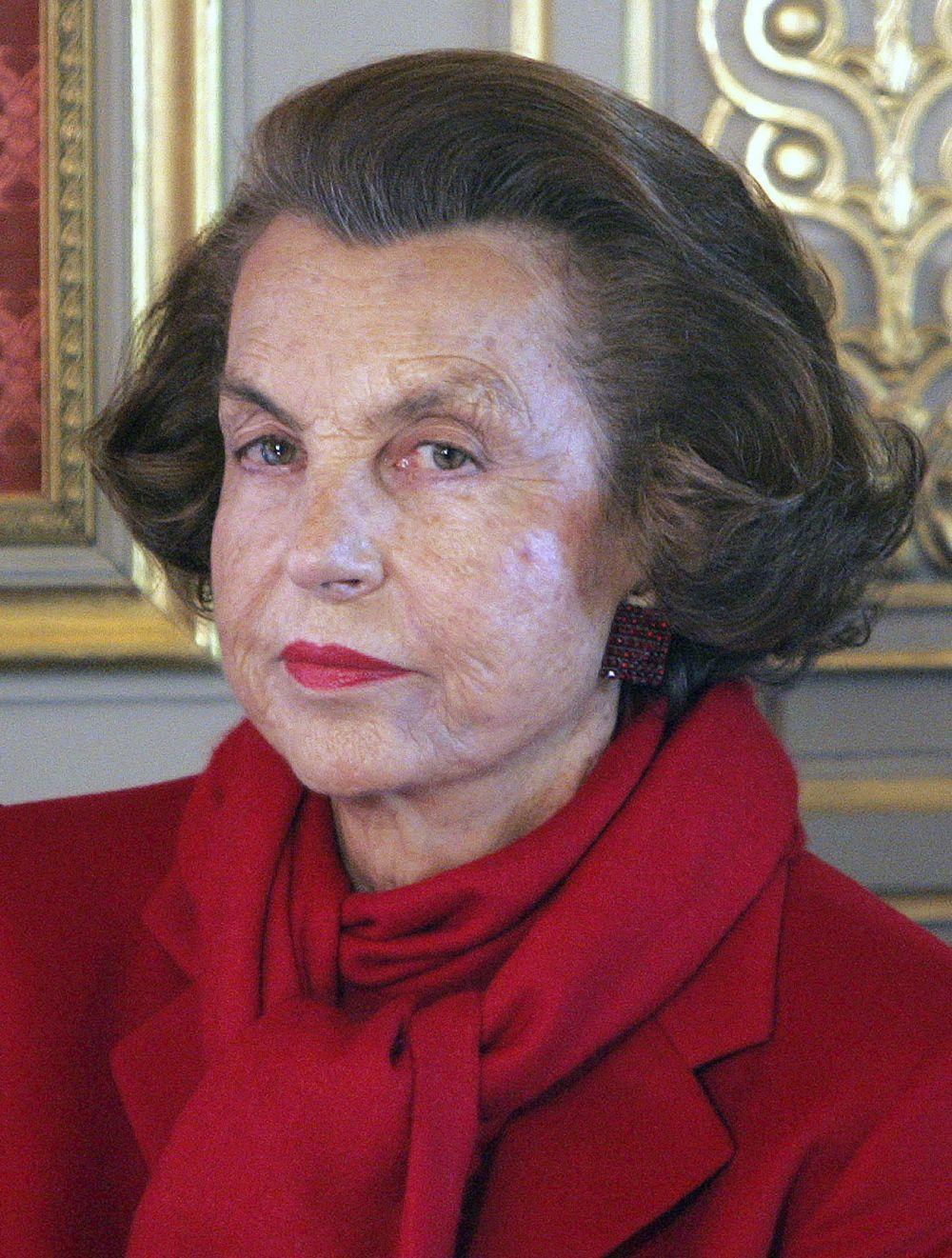 Liliane Bettencourt, heredera del imperio L'Oreal y mujer más rica...