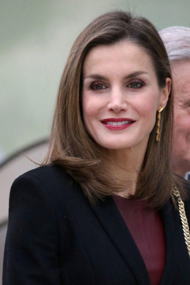 Corte de pelo reina letizia