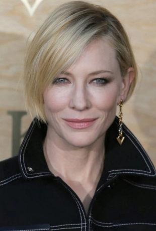 Cate Blanchett: bob asimétrico