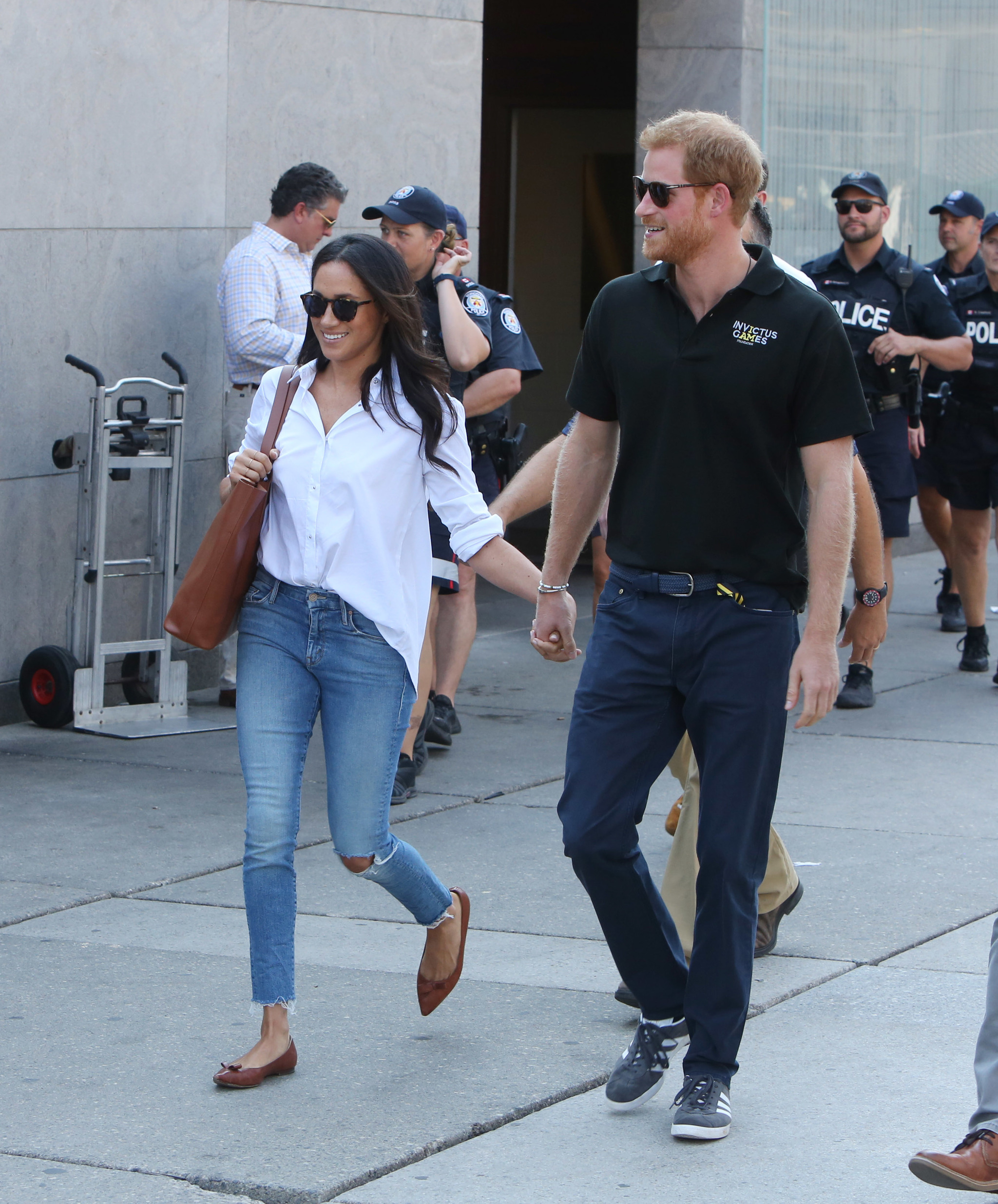 La pareja acudió junta a la ceremonia de inauguración de los Juegos...