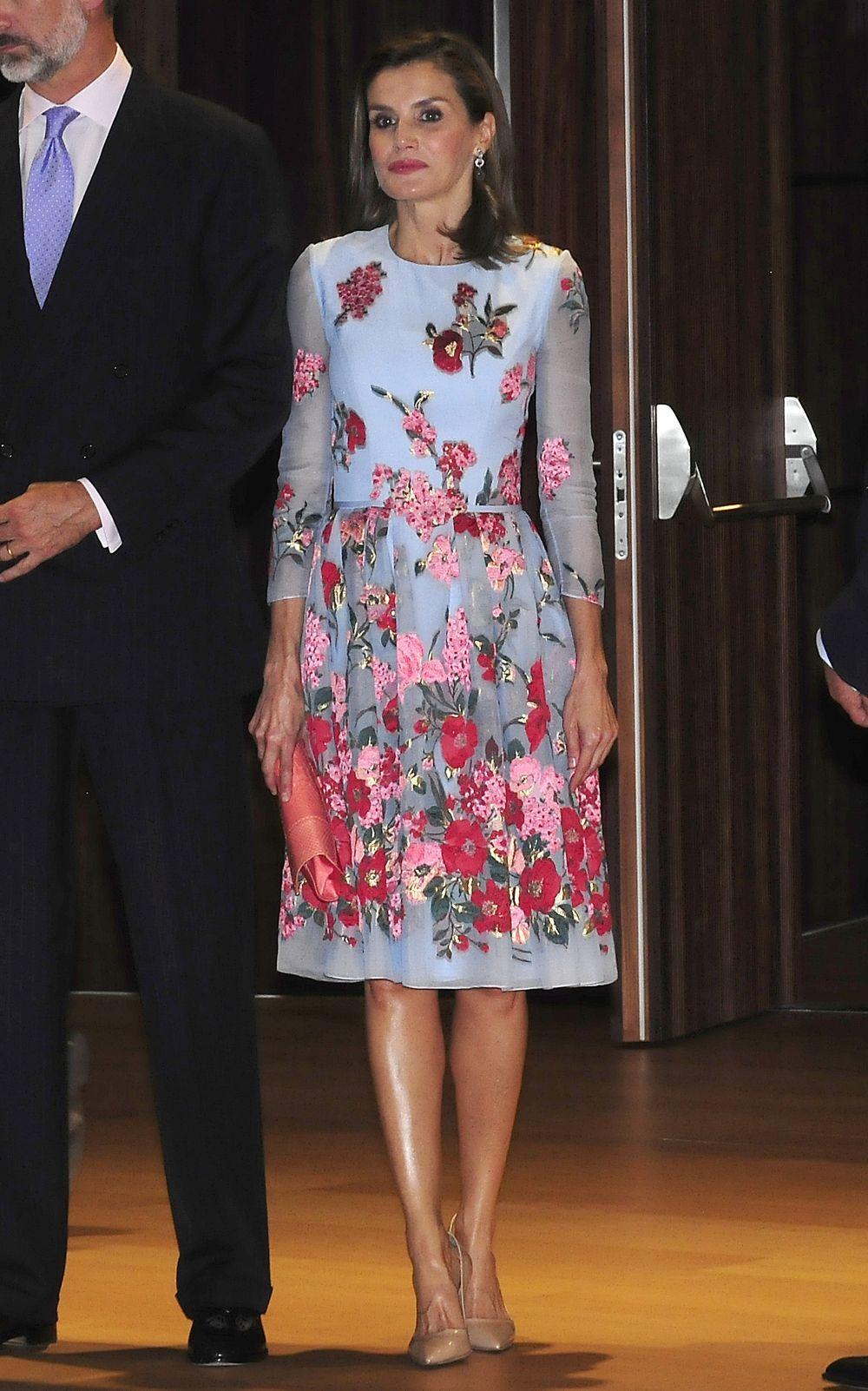 Las flores también en invierno, según la Reina Letizia