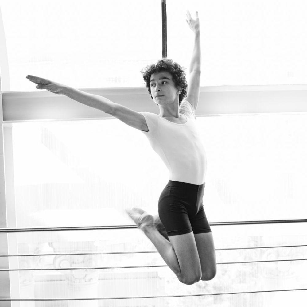 Pablo realiza el salto mítico de Billy Elliot