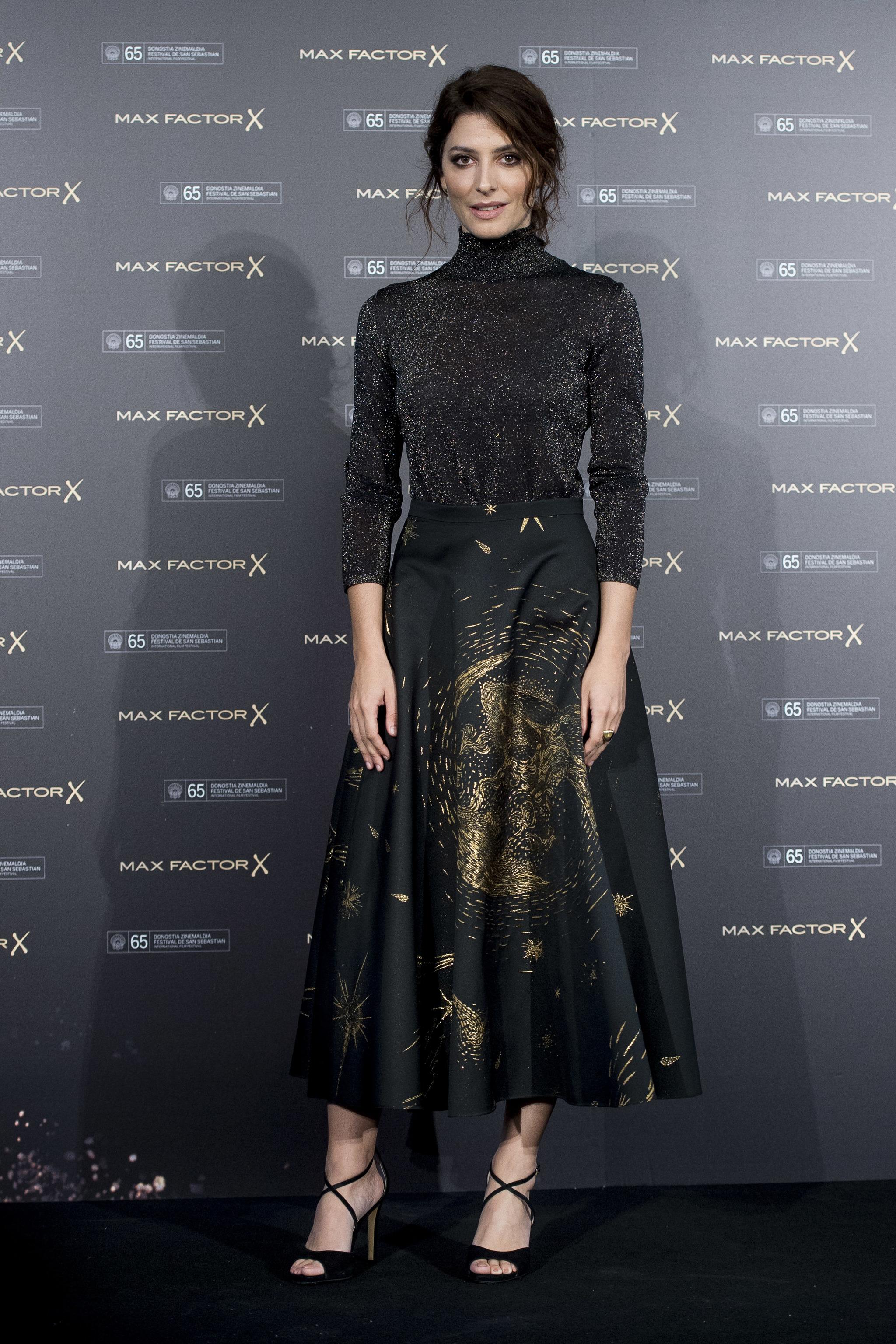 La actriz lució un look de Dior de la última colección de Maria...