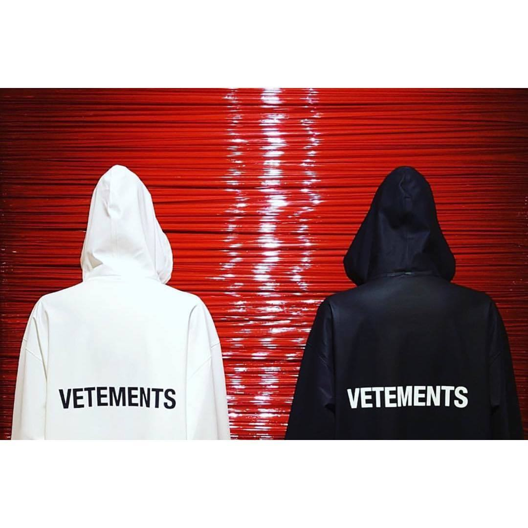 Sudaderas de la marca Vetements