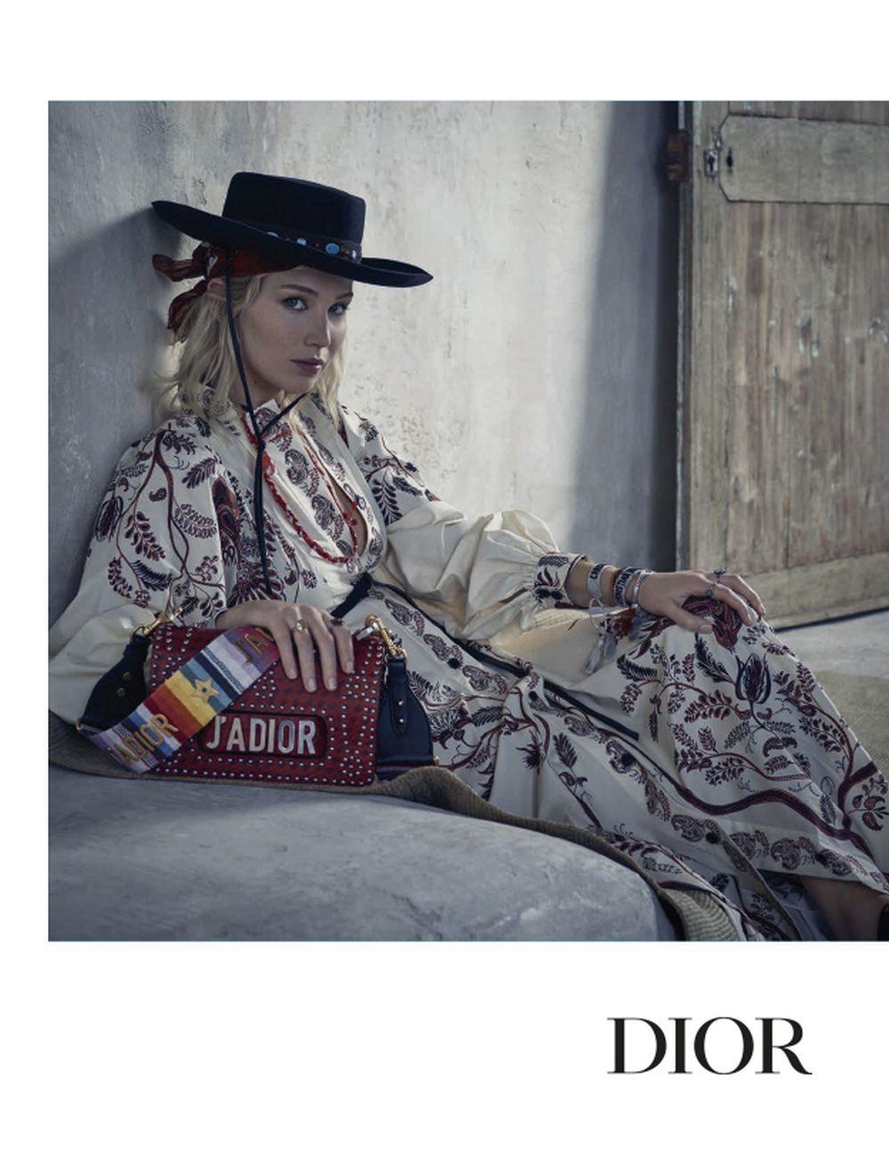 Jennifer Lawrence, la musa de Dior, posa para Brigitte Lacombe