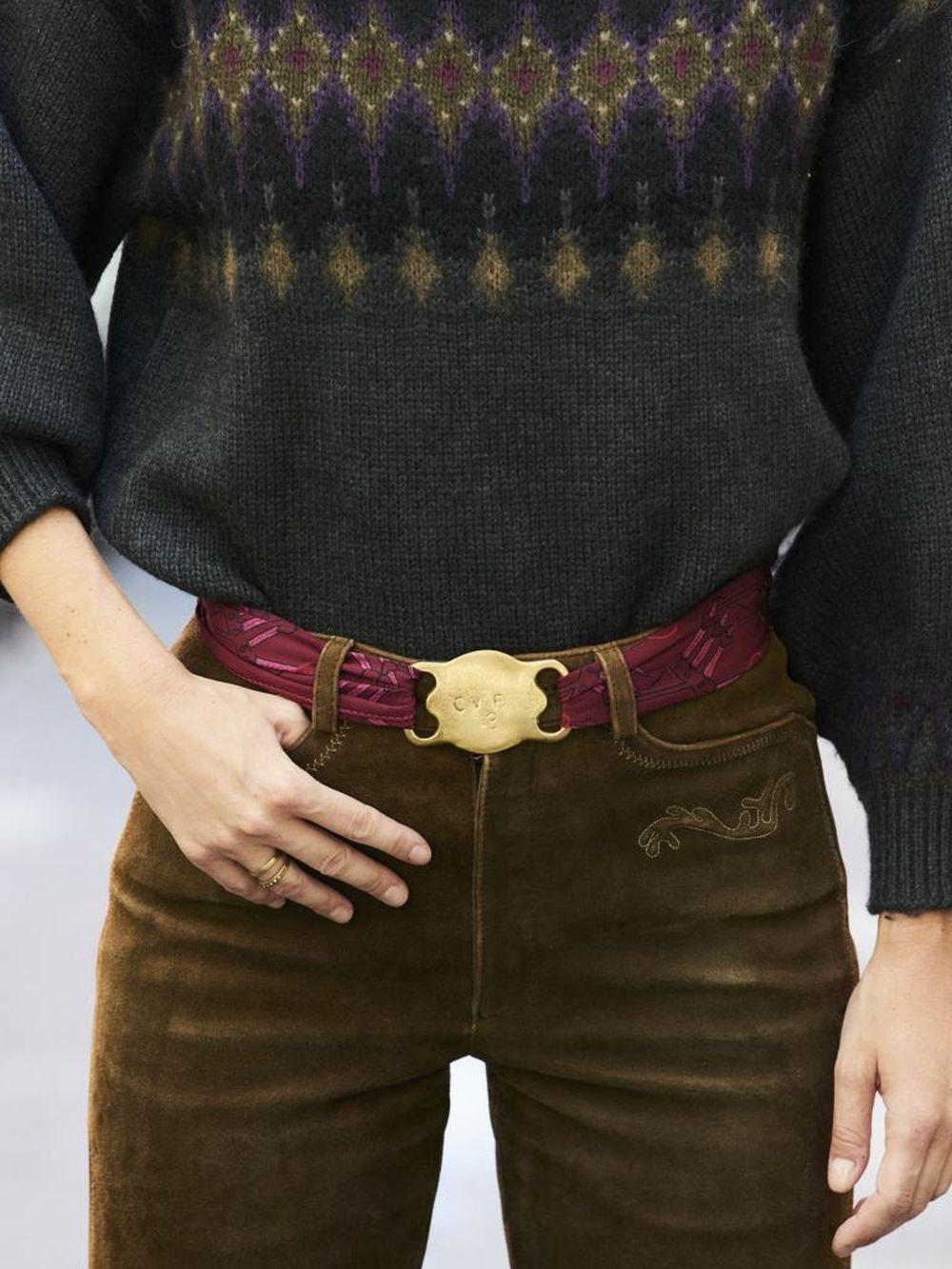 Cinturón gaucho