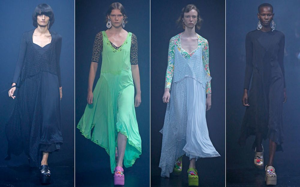 Desfile de Balenciaga en la Fashion Week de París