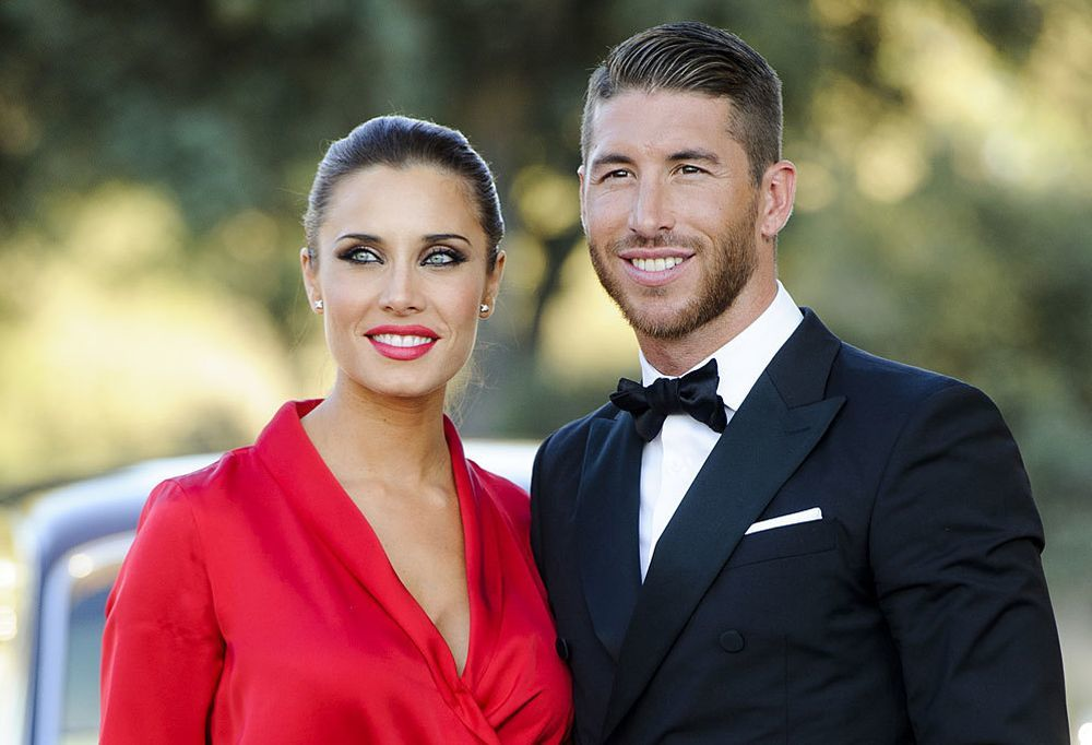 Pilar Rubio, embarazada, junto a Sergio Ramos
