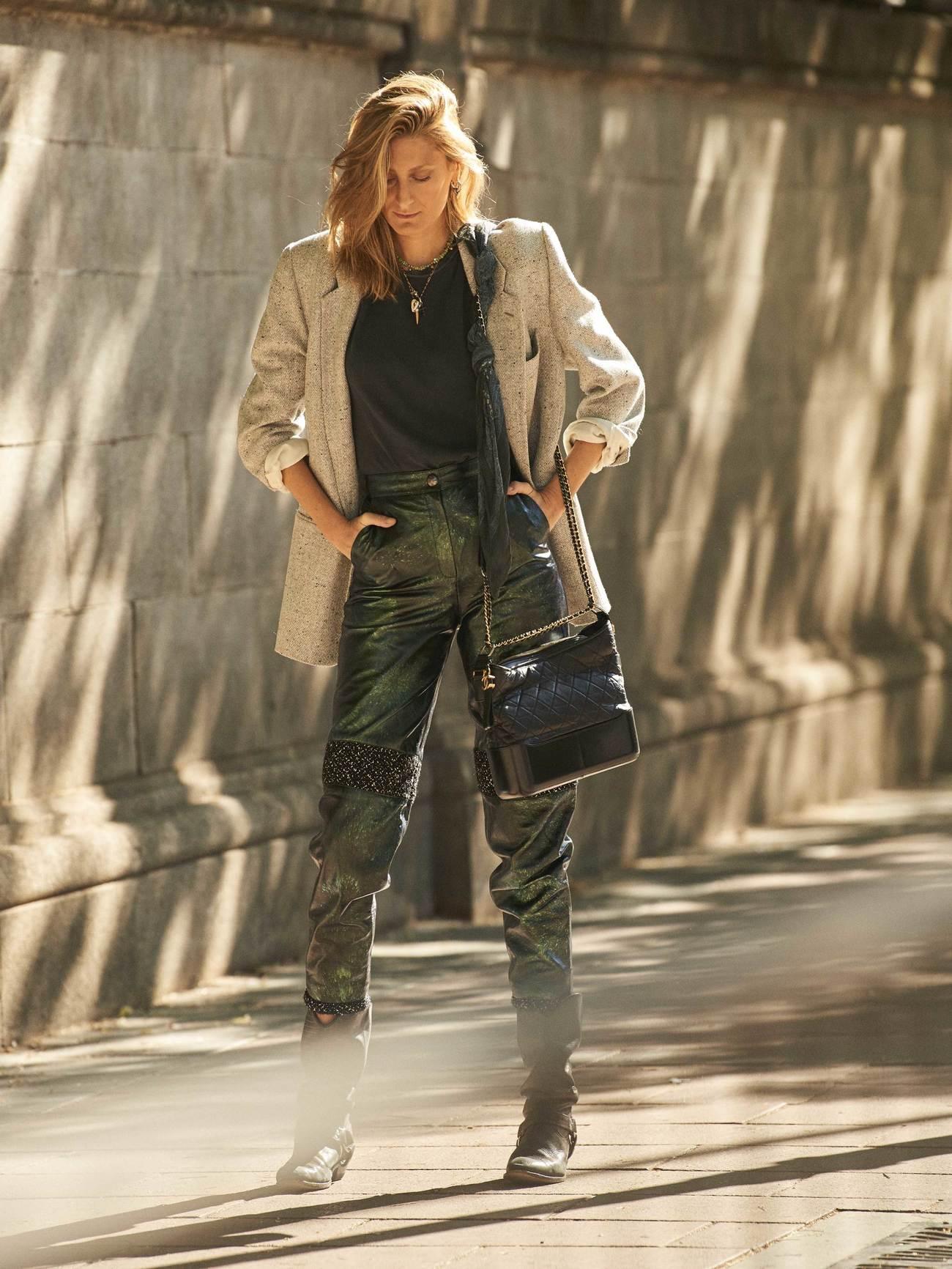 Gabriela Bilbao, estilista. Mezcla las tendencias para crear su propia...
