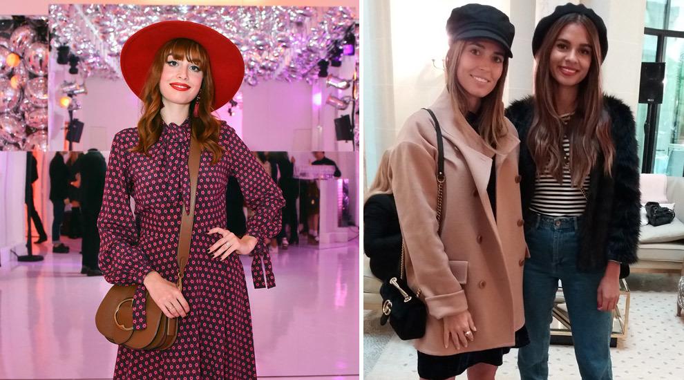 De izquierda a derecha: Louise Ebel, del blog Miss Pandora y las...