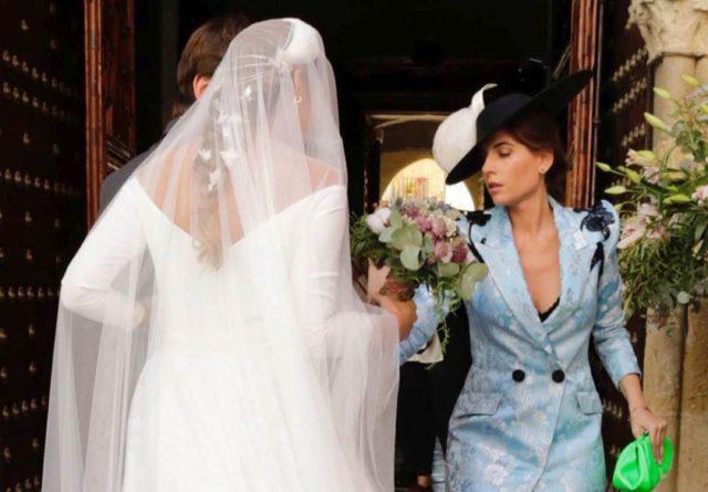 Vestido lourdes montes boda hermana
