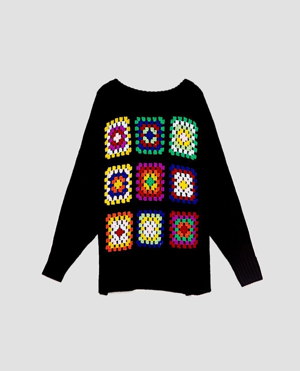 Jersey de crochet de Zara (29,95 euros)