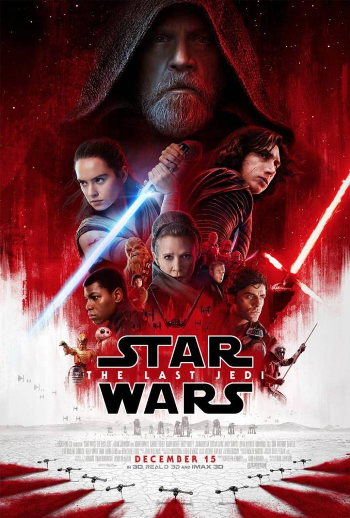 Cartel oficial 'Star Wars: The Last Jedi'