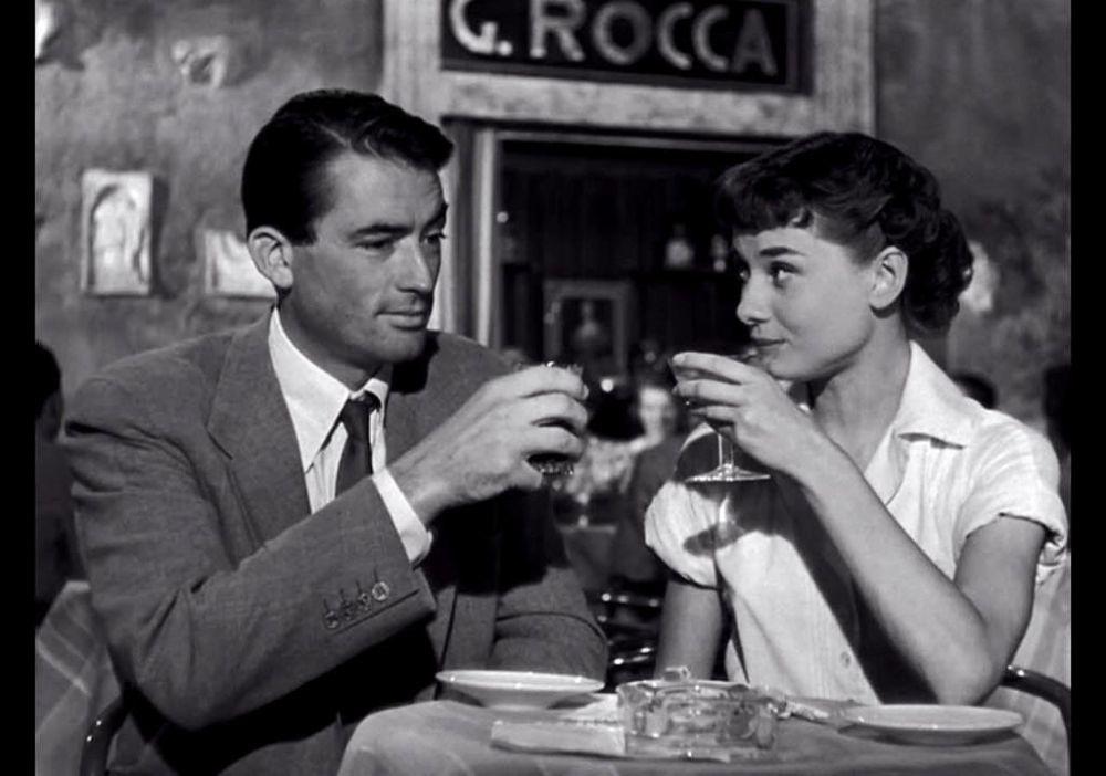 Vacaciones en Roma con Gregory Peck y Audrey Hepburn
