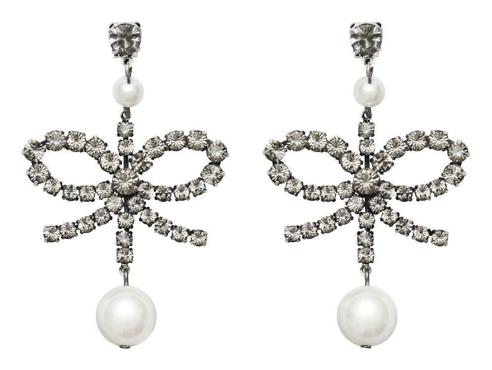 lo último 73061 9095d Pendientes acabados en perlas (34,99 euros) | ERDEM x H&M, la...